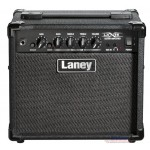 Laney LX15 15W 2x5 Guitar Combo Amp (Black-Red-Camo)