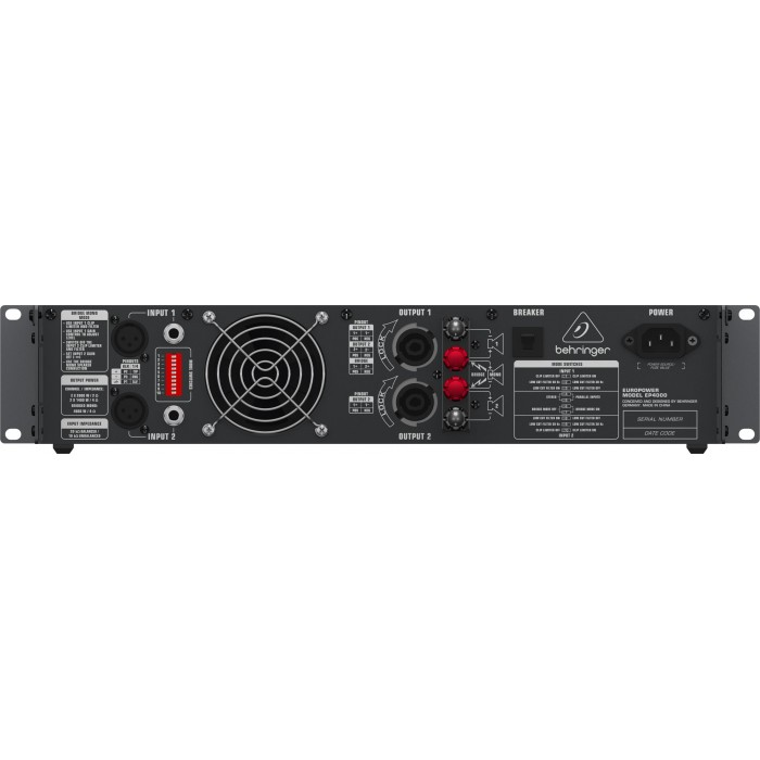jual behringer ep4000 europower power amp. Black Bedroom Furniture Sets. Home Design Ideas