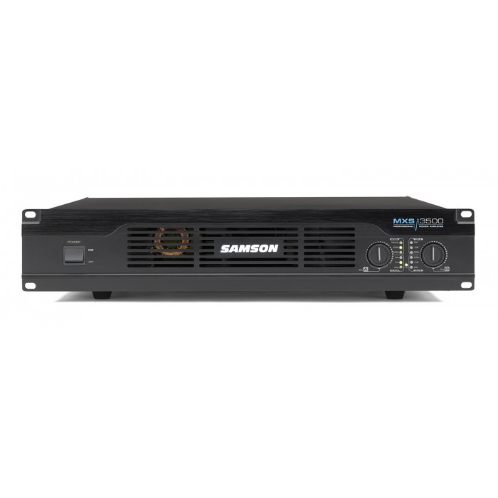Jual power amplifier harga spesifikasi dan review samson mxs3500 professional power amplifier sciox Gallery