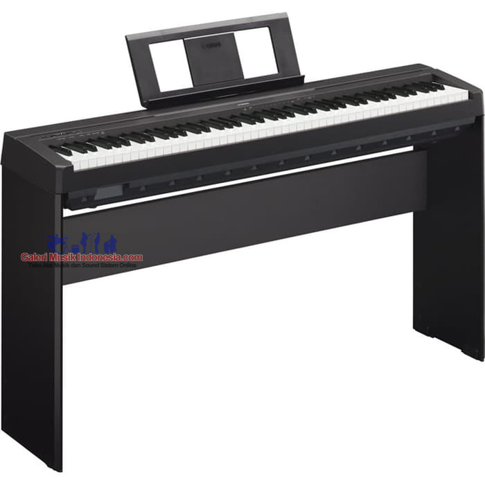 jual yamaha p45 digital piano with stand and pedal. Black Bedroom Furniture Sets. Home Design Ideas