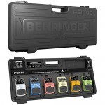 Behringer PB600 Pedalboard with Power Supply - 6-pedal