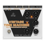 Behringer Vintage Time Machine VM1 Analog Delay/Echo/Chorus/Vibrato Effects Pedal