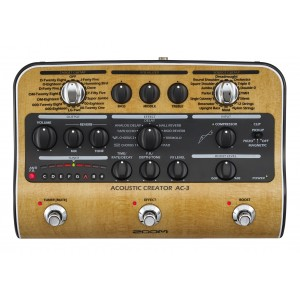 Zoom AC-3 Acoustic Creator Multi-Effects Pedal