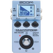 Zoom MS-70CDR MultiStomp Chorus / Delay / Reverb Pedal