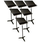 Manhasset 5006 Orchestral Music Stand (6-Pack)