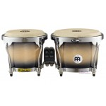 Meinl MB400BKMB Wooden Bongos High Gloss Black Maple Burst