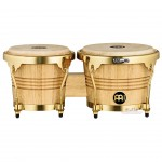 Meinl WB200NT-G Rubber Wood Natural Bongos Gold Tone Hardware