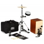 Meinl Percussion Cajon Drum Set with Cymbals and Hardware