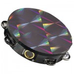 "Remo TA-4110-45 Prizmatic Tambourine 10"" Single Row"
