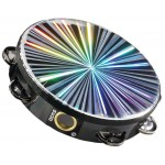 "Remo TA-4110-48 Radiant Tambourine 10"" Single Row"