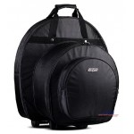 Dr. Case Snare + Cymbal Trolly Case - Limited Series - Gig Bag Semi Hardcase