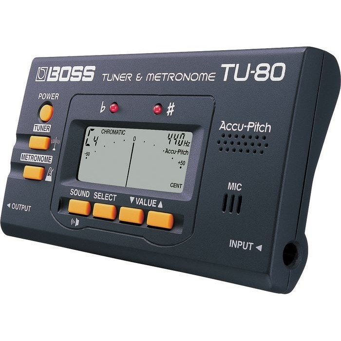 Boss TU-80 Chromatic Tuner and Metronome Musical Instruments ...