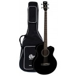 Cort SJB5F Acoustic Bass Guitar (with Bag)