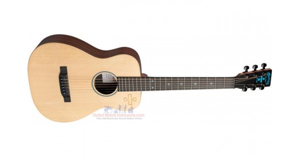 Jual Martin LX Ed Sheeran 3 Divide Signature Edition Little Martin  Acoustic-Electric Guitar (with Bag)