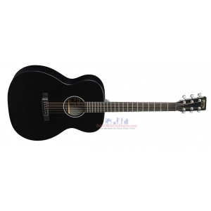 Martin OMXAE Orchestra Model Acoustic-Electric Guitar Black