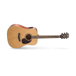 Cort EARTH 100F-NS W/EQ Acoustic-Electric Guitar