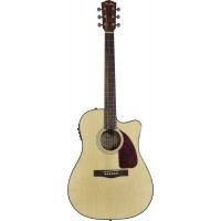 Fender CD140SCE Acoustic-Electric Guitar, NAT, BK