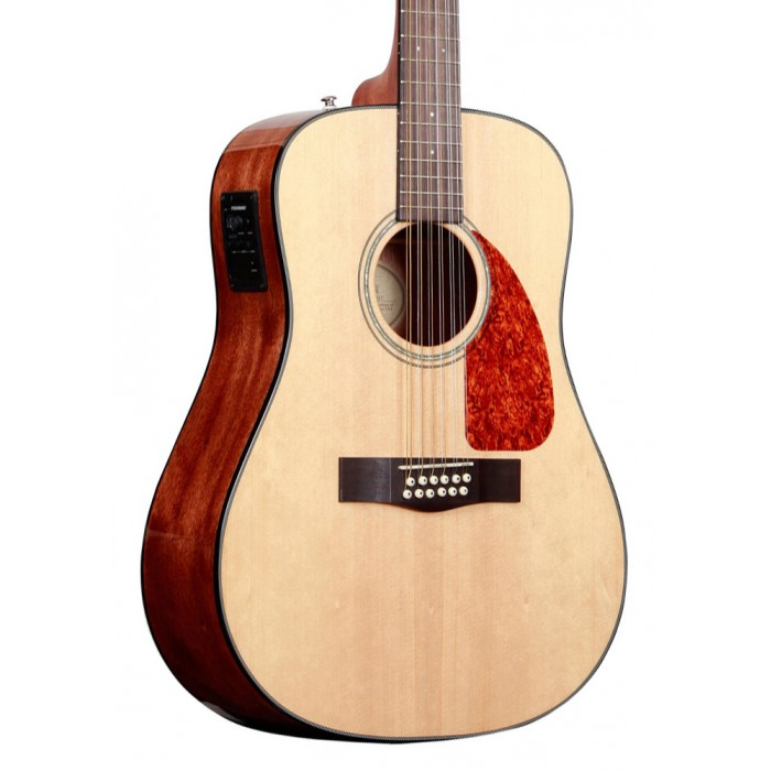 Fender CD160SE 12-String Acoustic-Electric Guitar Natural