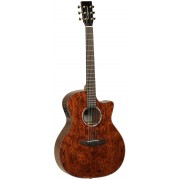 Tanglewood TVC XB Venetian Cutaway Figured Bubinga Acoustic-Electric Guitar