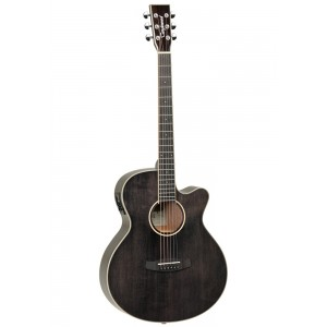 Tanglewood TW4 E BS Winterleaf Black Shadow Gloss Electro Acoustic Guitar
