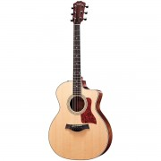 Taylor 214CE Grand Auditorium Acoustic-Electric Guitar with Gl
