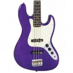 Vintage VJ74PL Purple Electric Bass