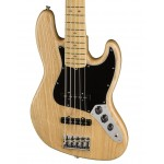 Fender American Professional Jazz Bass 5-String w/ Maple Fingerboard, Natural