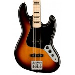 Fender Geddy Lee Jazz Bass Guitar, Maple FB, 3-Tone Sunburst