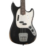 Fender JMJ Road Worn Mustang Bass, Black