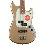 Fender Player Mustang PJ Bass Pau Ferro FB Firemist Gold