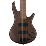 Ibanez GSR206B-WNF GIO Series 6 String RH Electric Bass (Walnut Flat)