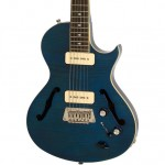 Epiphone Blueshawk Deluxe Electric Guitar, Midnight Sapphire