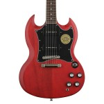 Epiphone SG Classic Worn Cherry P-90s Electric Guitar