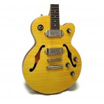Epiphone Wildkat Hollowbody Electric Guitar, Antique Natural