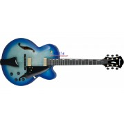 Ibanez AFC155-JBB Contemporary Archtop Hollowbody Guitar - Jet Blue Burst