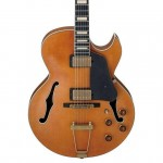 Ibanez AKJV95-DAL Artcore Expressionist HollowBody Electric Guitar - Dark Amber Low Gloss