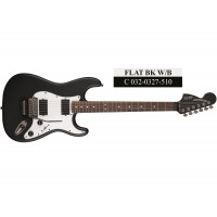 Squier Contemporary Active Stratocaster HH RW (Flat Black & Olympic White)