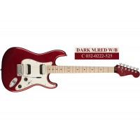 Squier Contemporary Stratocaster HH MN (Black Metallic, Dark Metallic Red, Pearl White)