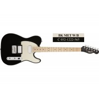 Squier Contemporary Telecaster HH MN (Black Metallic, Dark Metallic Red, Pearl White)