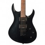 Washburn XM DLX2 PB Electric Guitar, Pearl Black