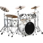 "DW Performance WC7-7piece Shell Pack With Snare Drum - 22"" - White Ice Lacquer"
