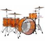 Ludwig Vistalite ZEP Series 5-Piece Drum Set - Amber