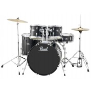 Pearl Roadshow RS525SC 5-Piece Drum Set Free Cymbals #Charcoal