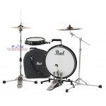Pearl Compact Traveler 2-Piece Drum Kit + Bag (cymbal not included)