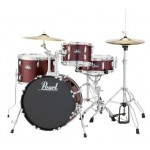 Pearl Roadshow RS584 4-Piece Drumset Free Cymbals