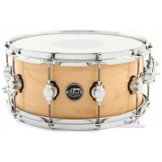 DW DRPL6514SSNA NAT Performance Series Snare Drum - Natural Lacquer