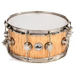 DW DR-SO-0614SSC NAT Collector's Series Snare Drum - Natural Satin Oil