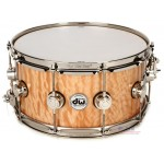DW DRX66514SSC VLT COLL SP Maple Exotic Quilted Snare Drum