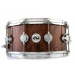 DW DRX66514SSC VLT COLL SP Maple Exotic Redwood Stump Snare Drum