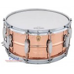 Ludwig Copper Phonic LC662K 14x6.5 Hammered Copper Snare Drum (with Imperial)